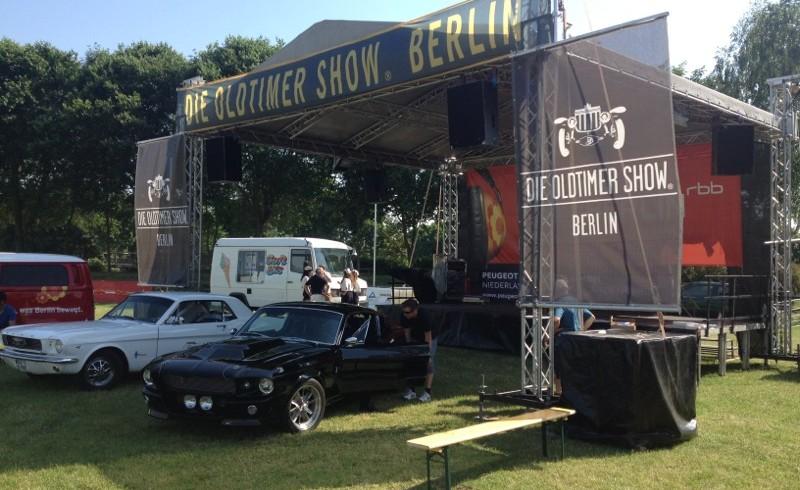 Die Oldtimer Show in Berlin