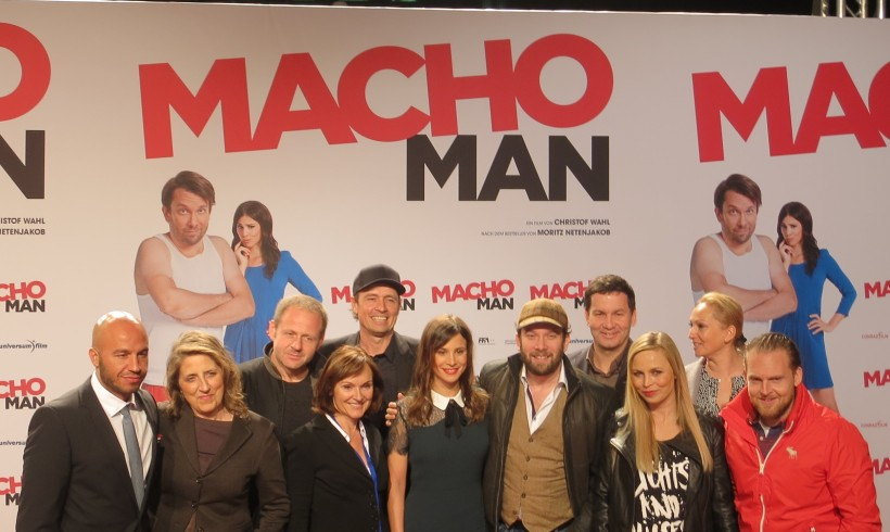 "Kino Premiere ""Macho Man"" in Köln"