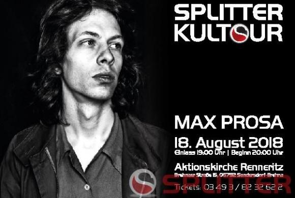 Splitter Kultour – Max Prosa