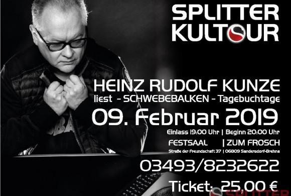 Splitter Kultour – Heinz Rudolf Kunze